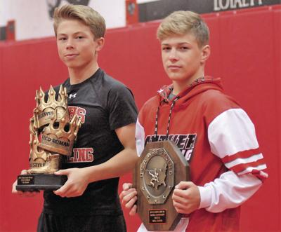Bright future for two national wrestling champions