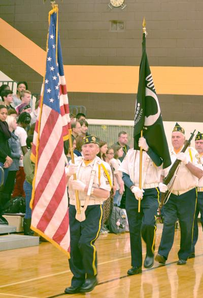 apple valley high school veterans day assembly 2 2018