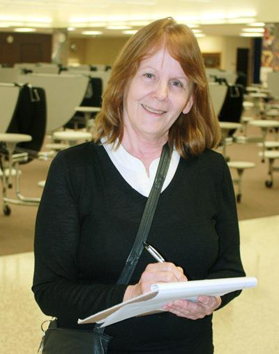 Food service director Gail Johnson named October 'Employee of the Month'