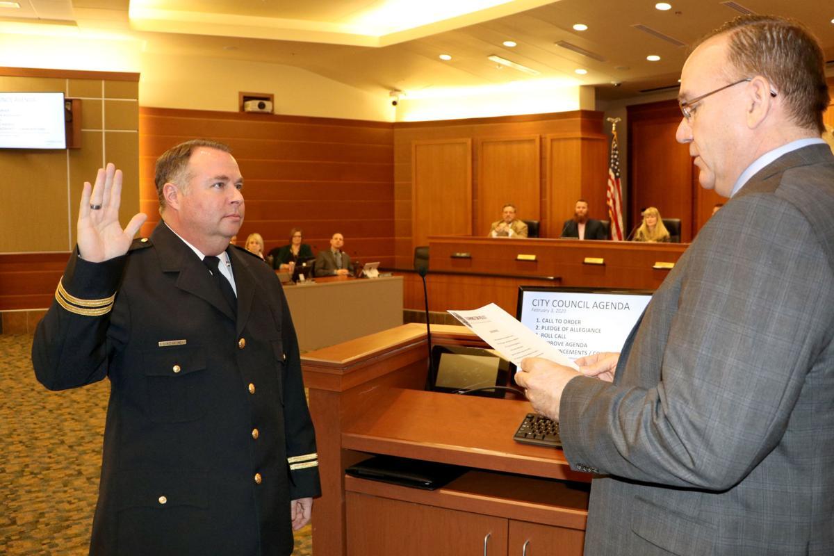 First Farmington Deputy Police Chief Jim Constantineau
