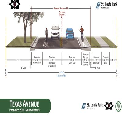 Street reconstruction could mean more bike lanes for Hopkins