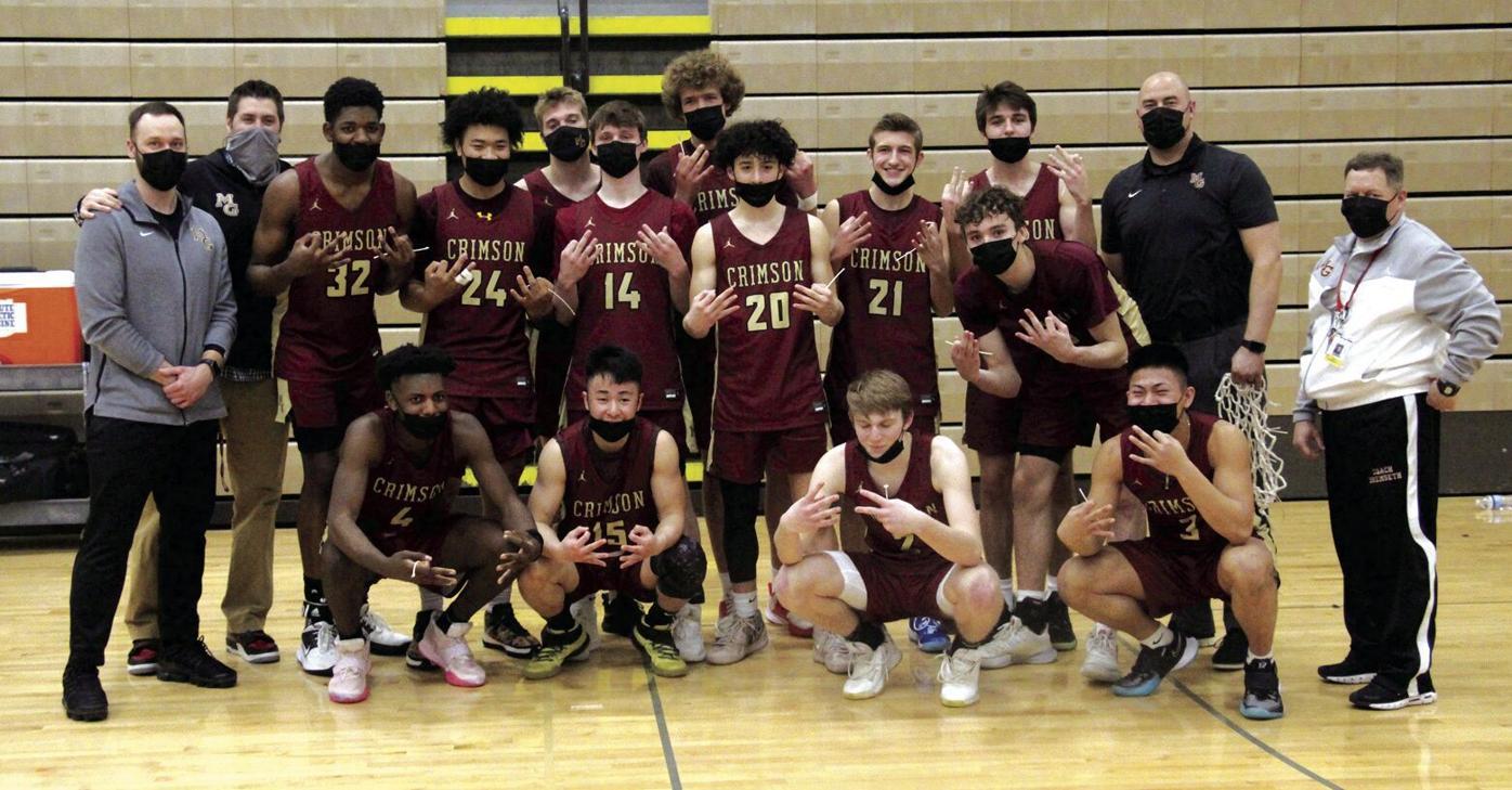 Crimson boys basketball wins 6th straight section title