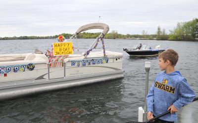 Jackson birthday boat parade