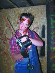 Scary fun awaits haunted house visitors