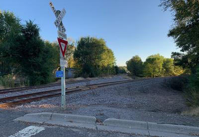 Railroad at Seventh Avenue Northeast