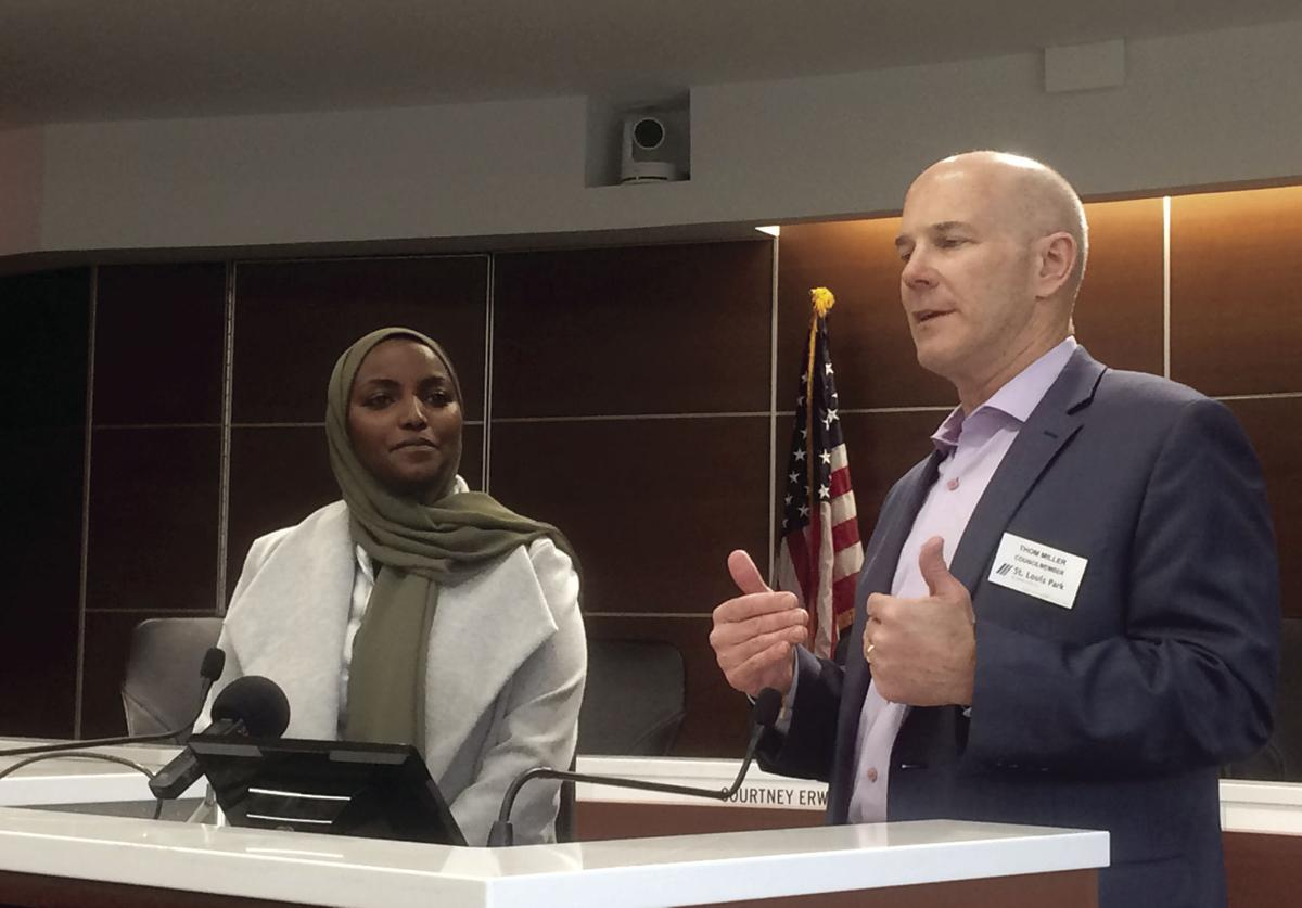 Candidates and ranked-choice voting supporters discuss results in St. Louis Park - 1