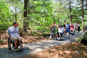 Donations to city's Woodland Trails Regional Park in Elk River increasing