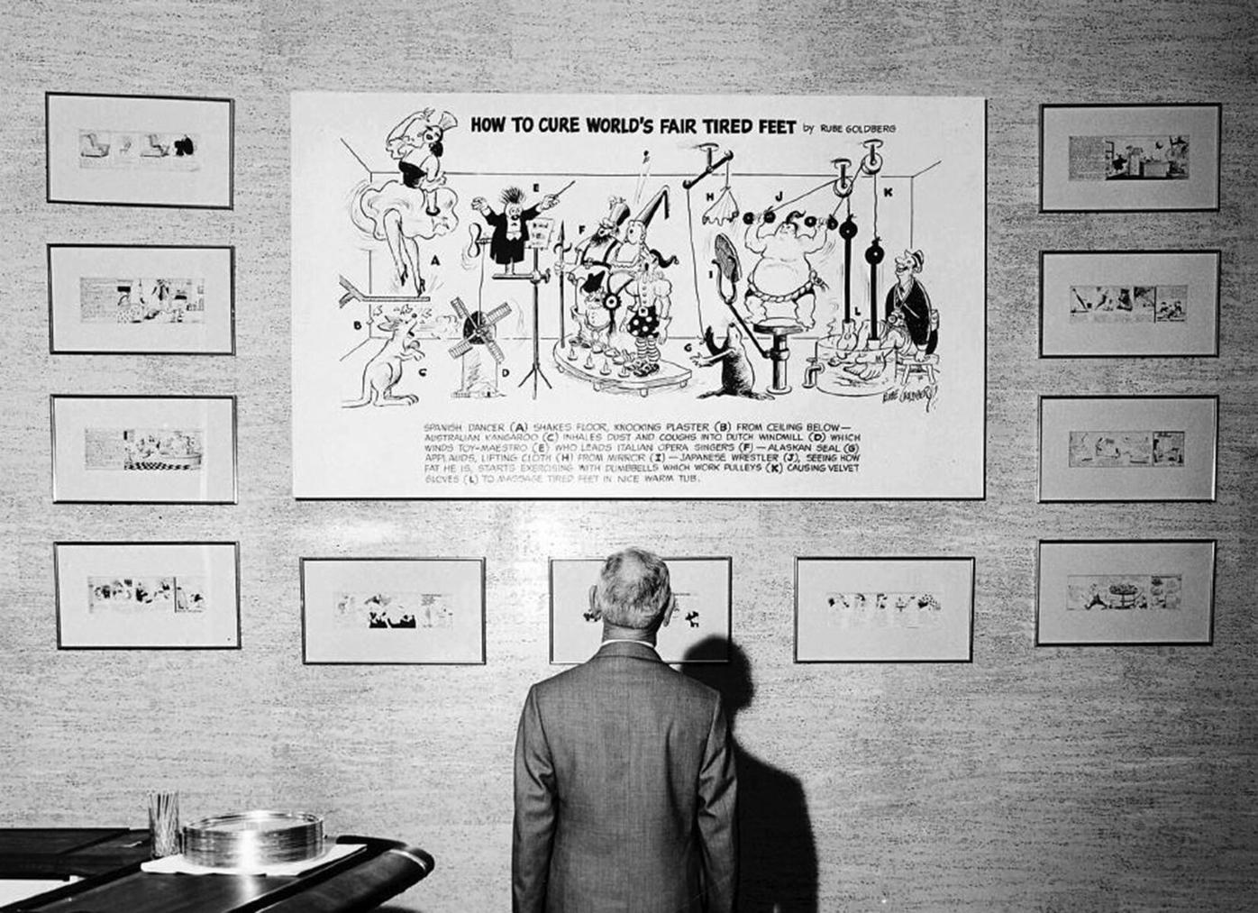 Minnesota JCC highlights works of Rube Goldberg and his son in St. Louis Park and St. Paul - 2