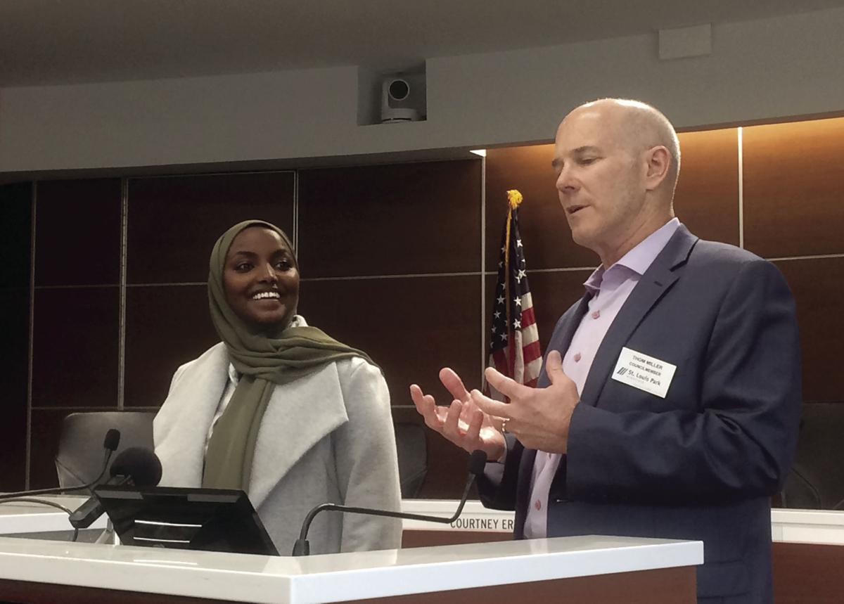 Candidates and ranked-choice voting supporters discuss results in St. Louis Park - 2