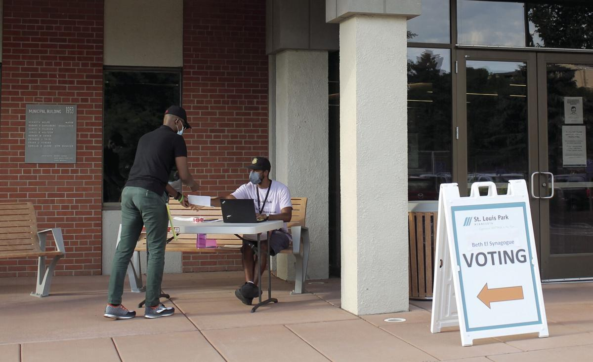 St. Louis Park voters weigh in during primary - 5
