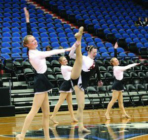 Crusaders compete at state dance meet