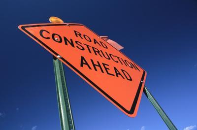 road construction MT
