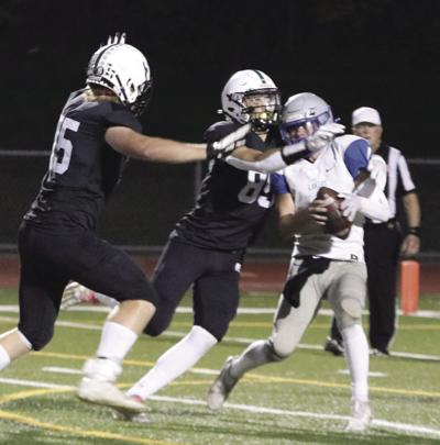 Rockford football earns share of league title with 43-12 victory