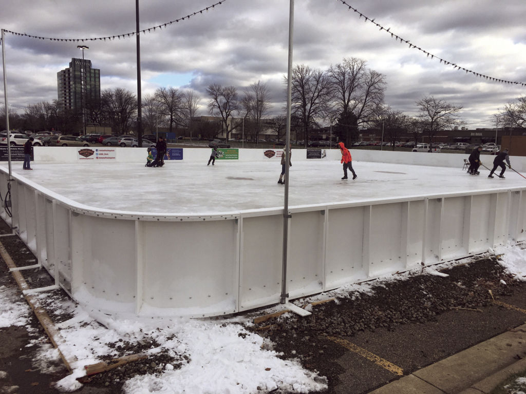 free outdoor ice rink now open at southdale center announcements