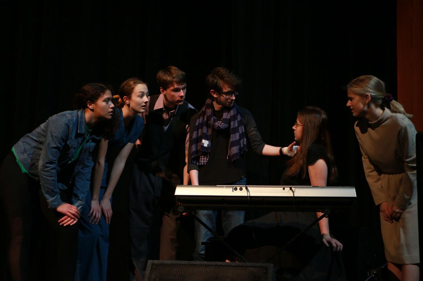 "Farmington High youth entertain with One Act ""Melancholy Play"""
