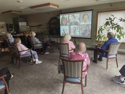 Osseo's Benedictine community takes part in virtual remembrance service