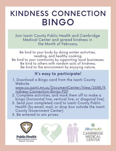 Kindness Connection Bingo Poster