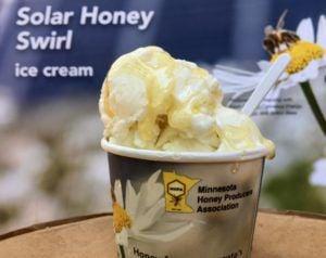 Solar Honey Swirl ice cream at the State Fair