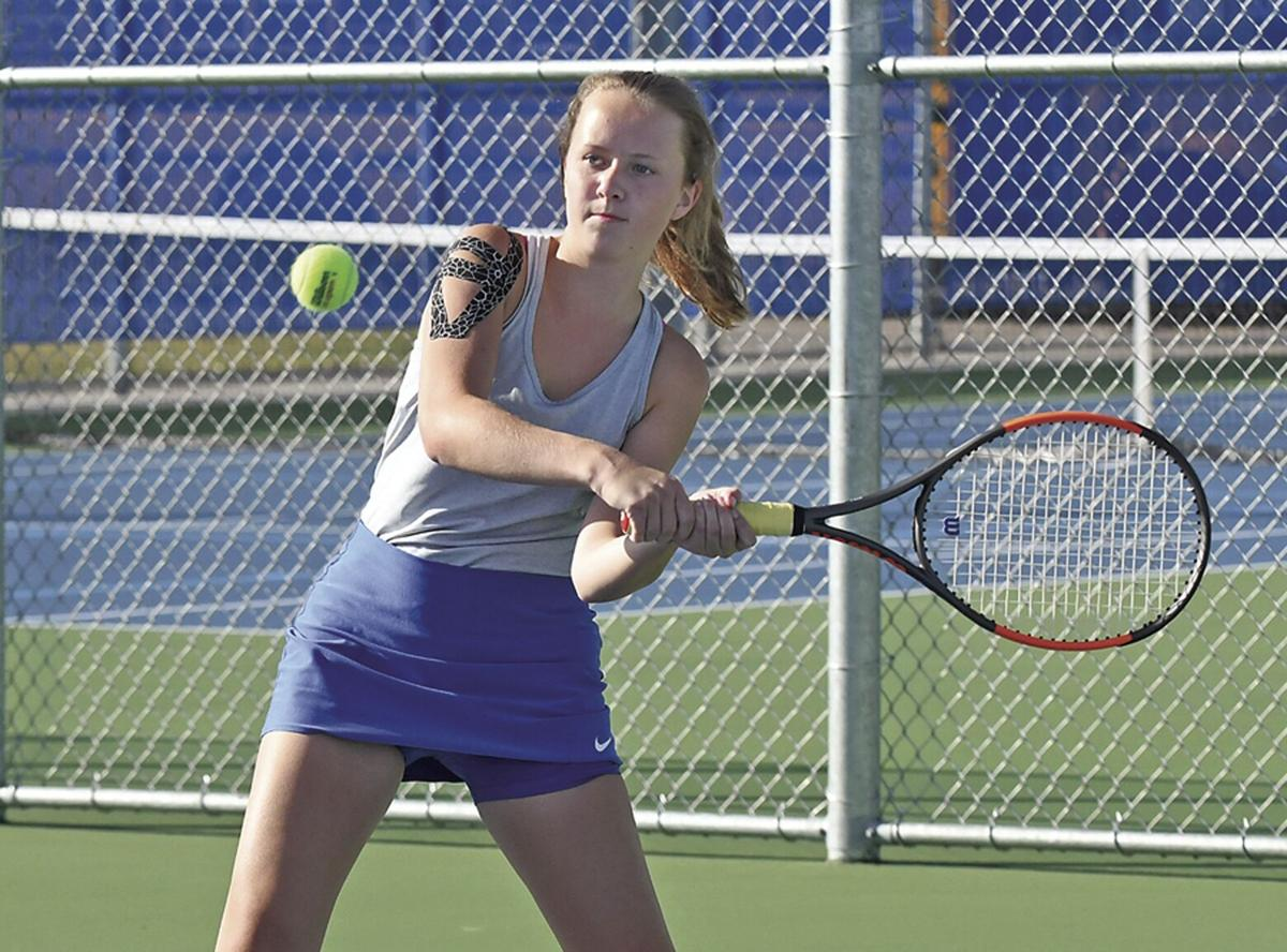 STMA girls tennis gets first win of season