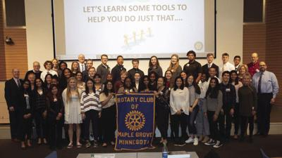 Students, Maple Grove Rotary Club focus on ethics