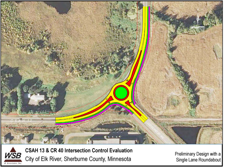 Roundabouts planned at two locations on roadway