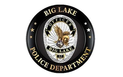 Big Lake Police badge 12-20