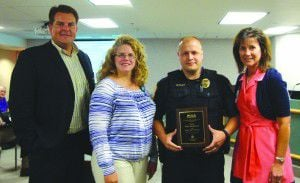 Osseo recognizes 'go-to guy' police officer
