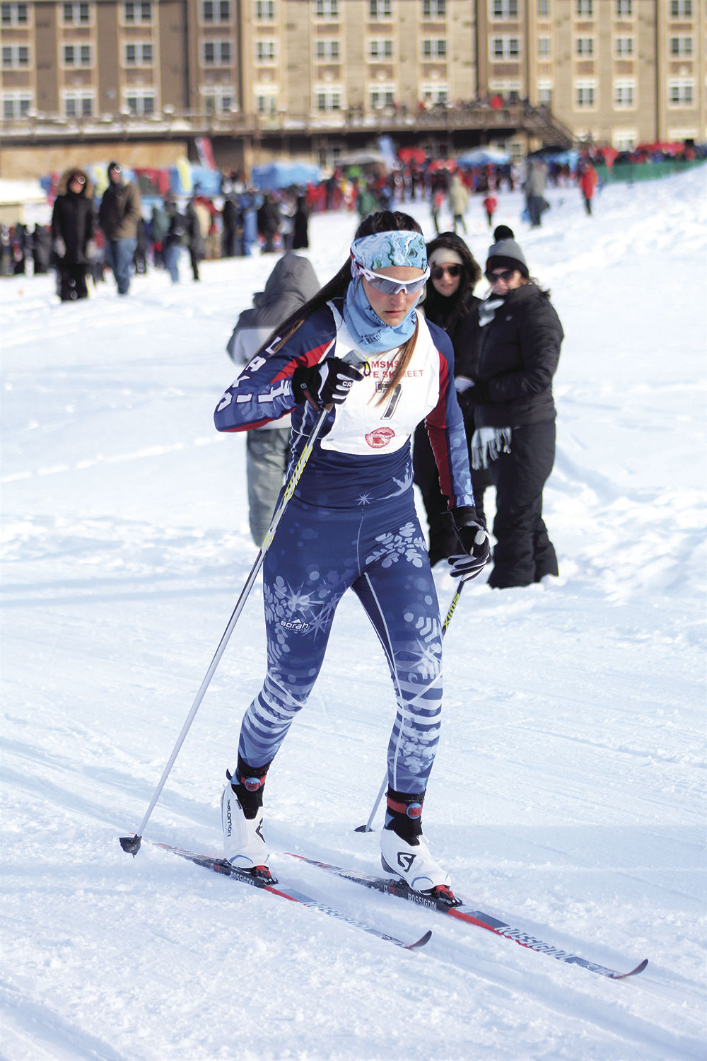 Two local Nordic skiers earn All-State