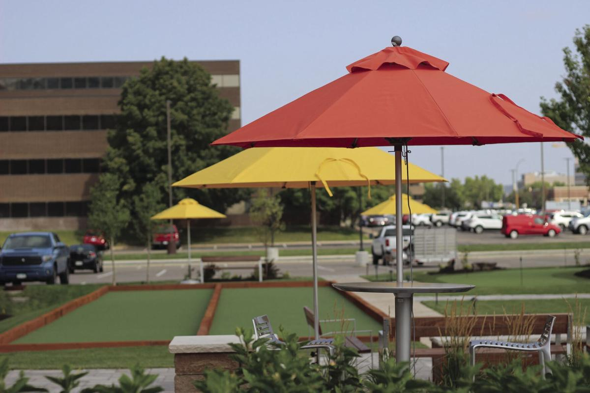 7700 France Ave. outdoor plaza