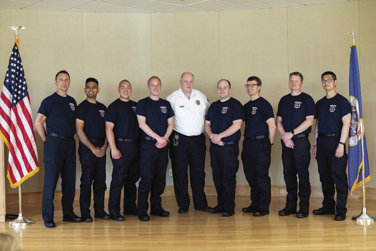 Maple Grove recruits complete West Suburban Fire Academy