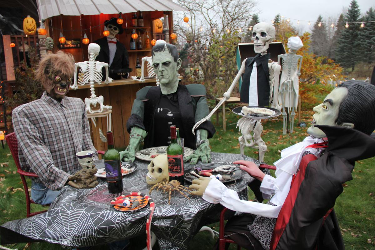 Halloween Displays 2020 Contest Anoka Mn Andover house of horrors wins Anoka Halloween decorating contest