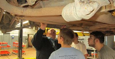 Gift puts Paynesville HS auto mechanics program into high