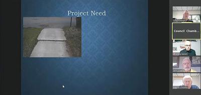Sidewalk project