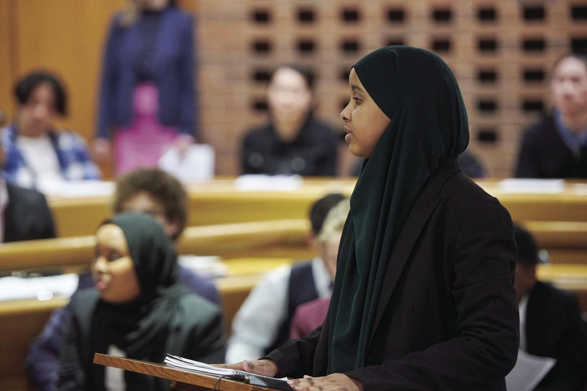 St. Louis Park Middle School students participate in mock trials - 4
