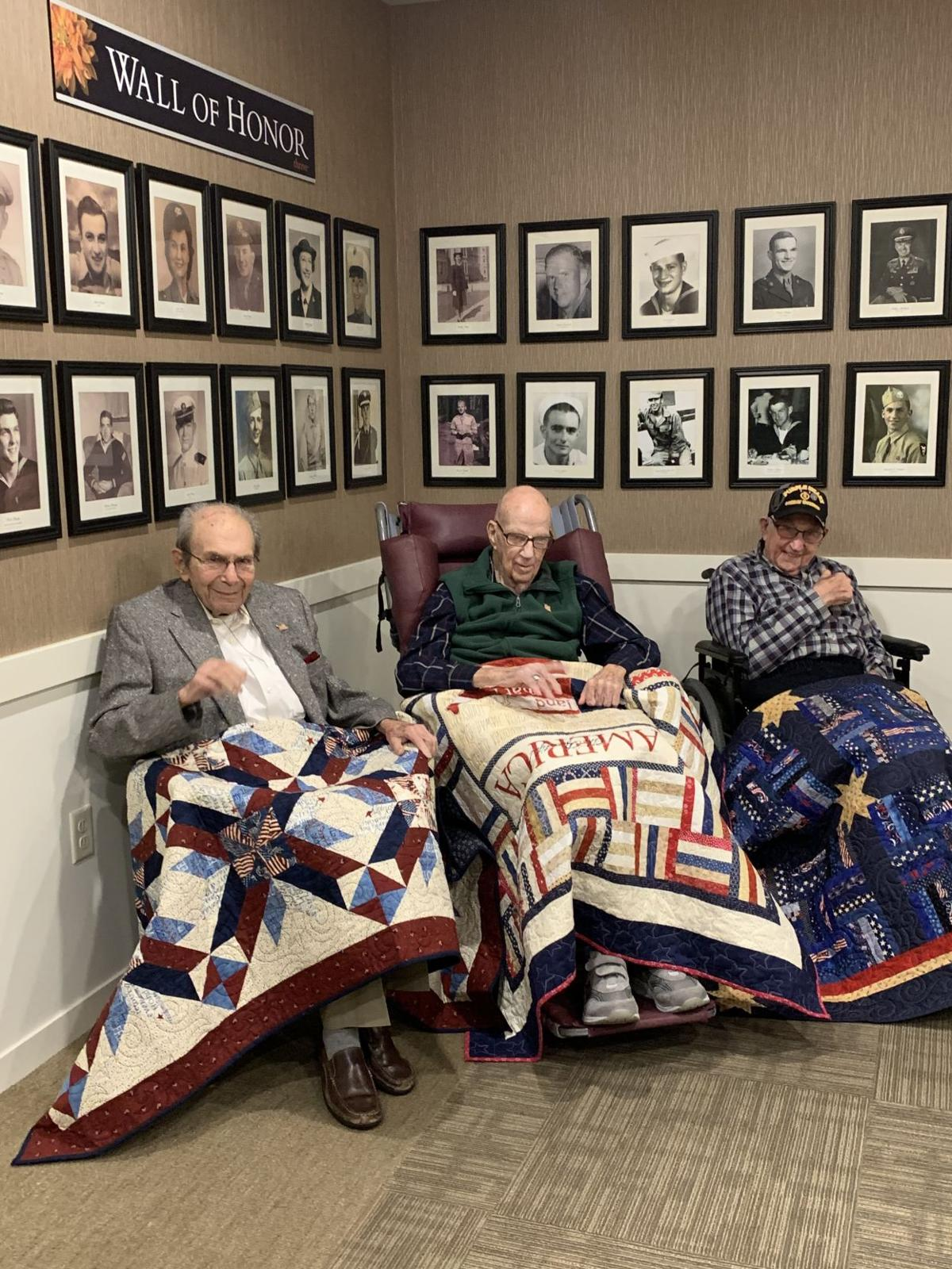 Quilts of Valor - vets
