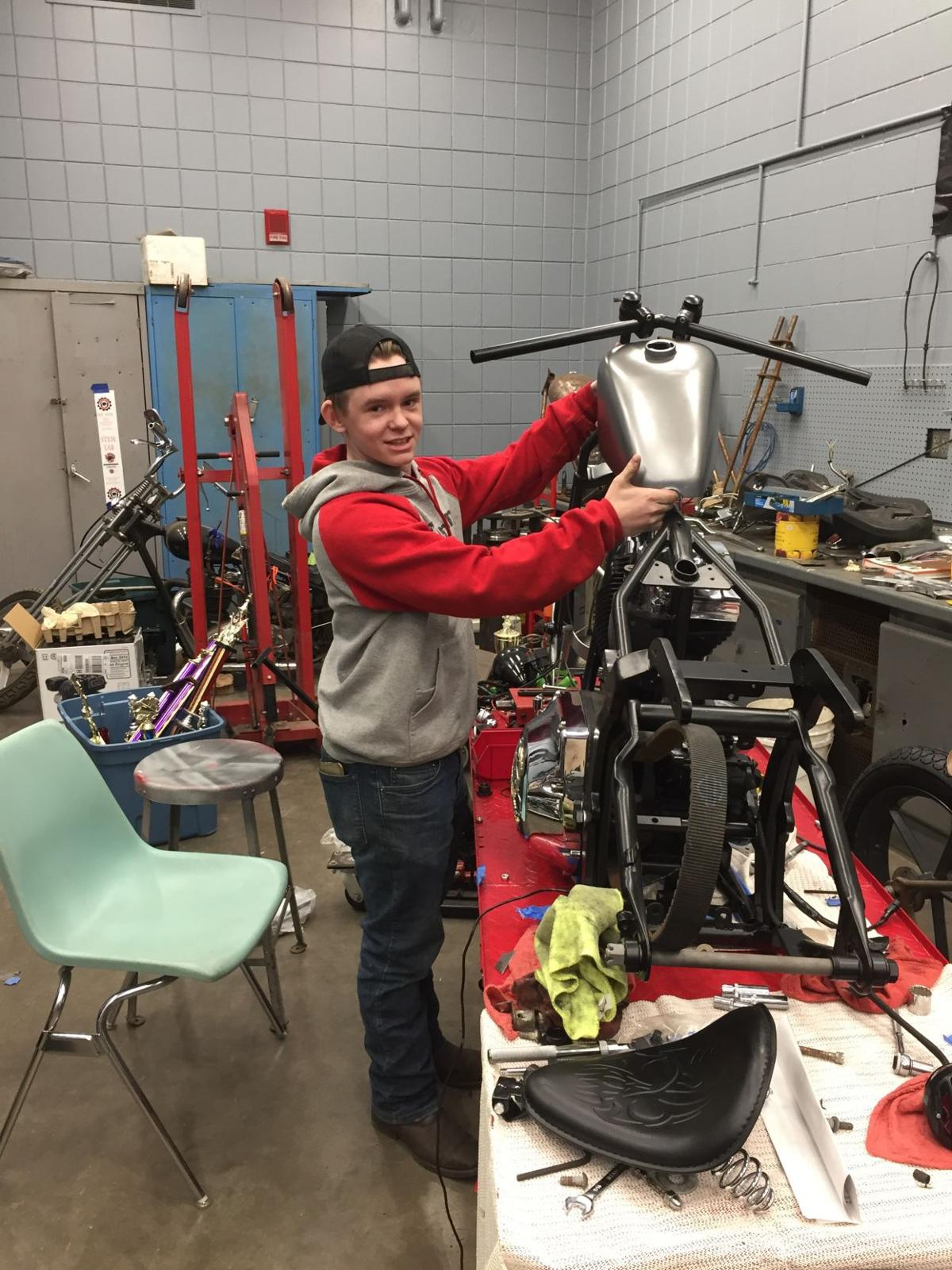 The fast lane to learning: Lakeville North students build