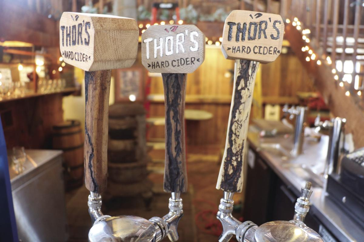 thor s hammer strikes once again hard cider taproom opens