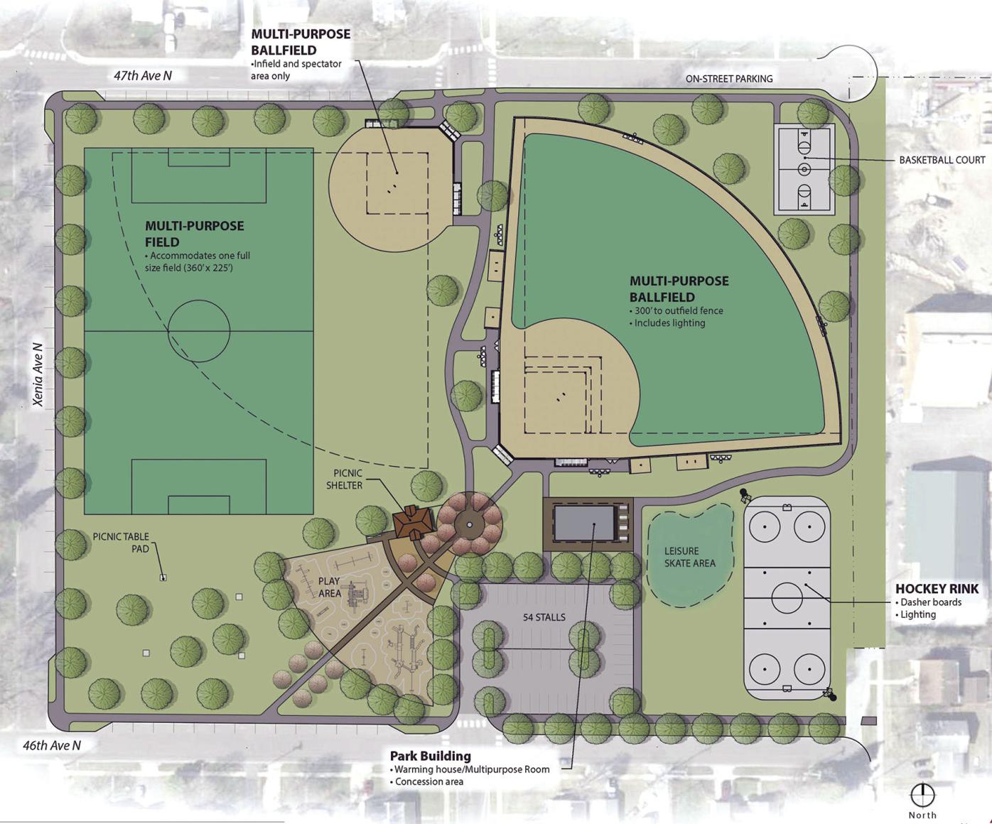 Crystal's parks master plan enters first stages of proposed action