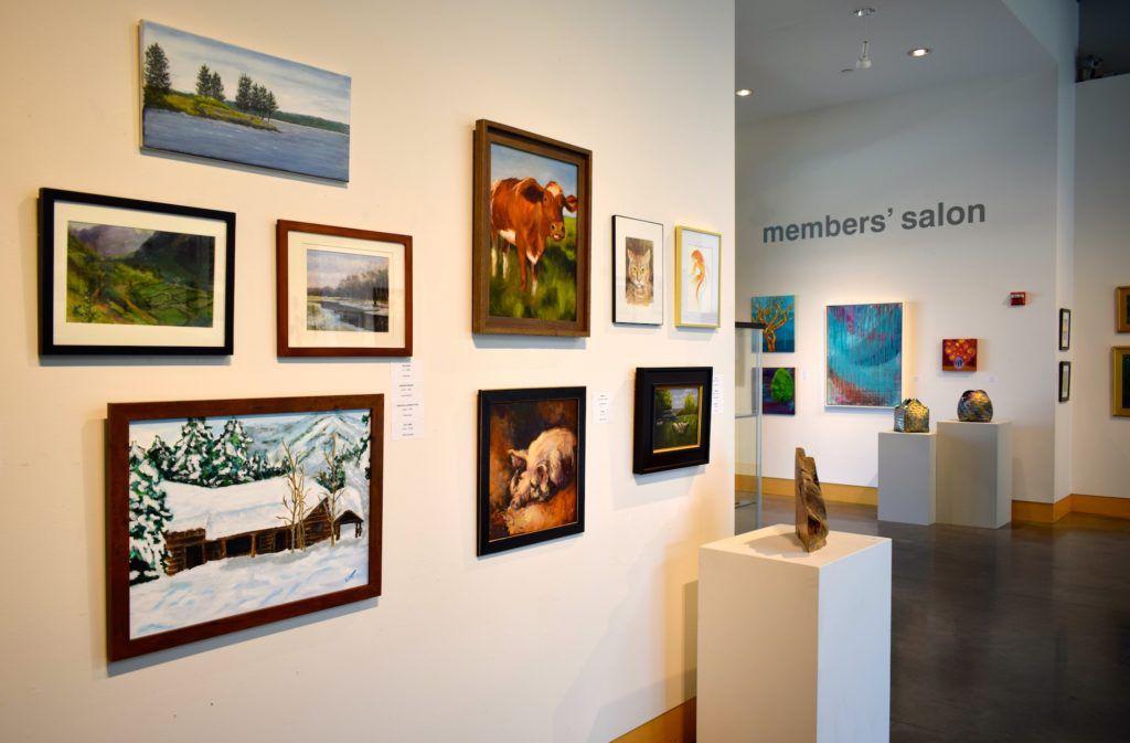 Member's Salon show open at Minnetonka Center for the Arts
