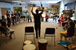 Blake School students explore West African drum and dance (WITH VIDEO)