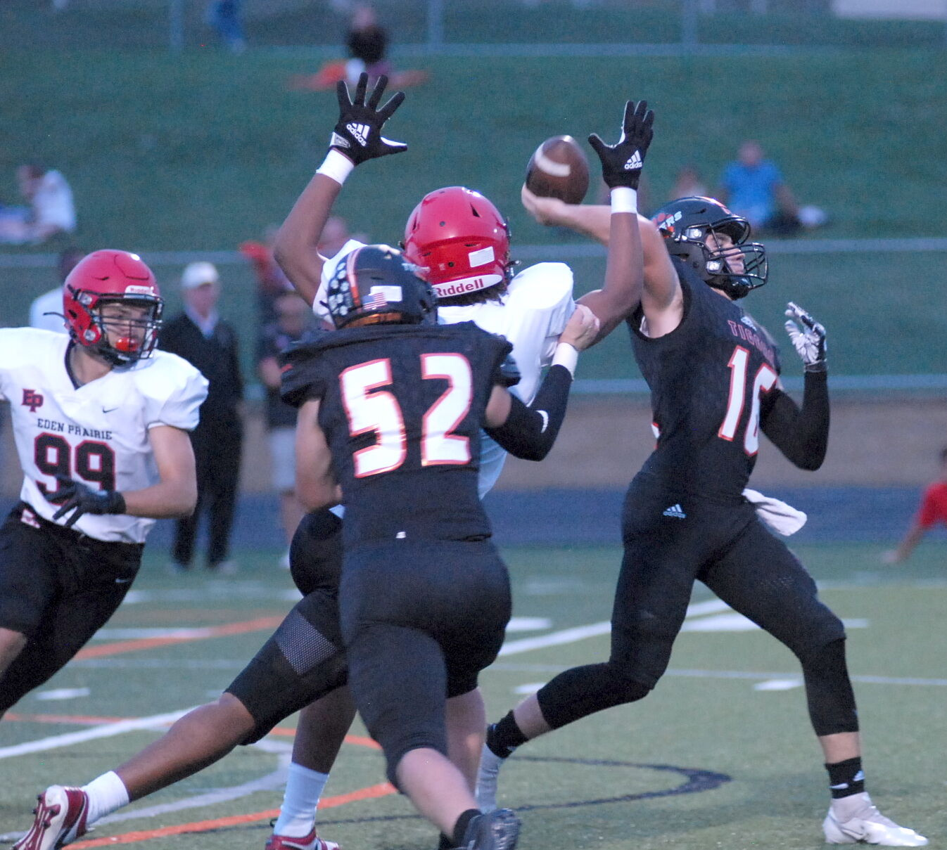 Week 2 football: Cougars grind out a victory over North