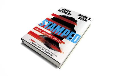 stamped book