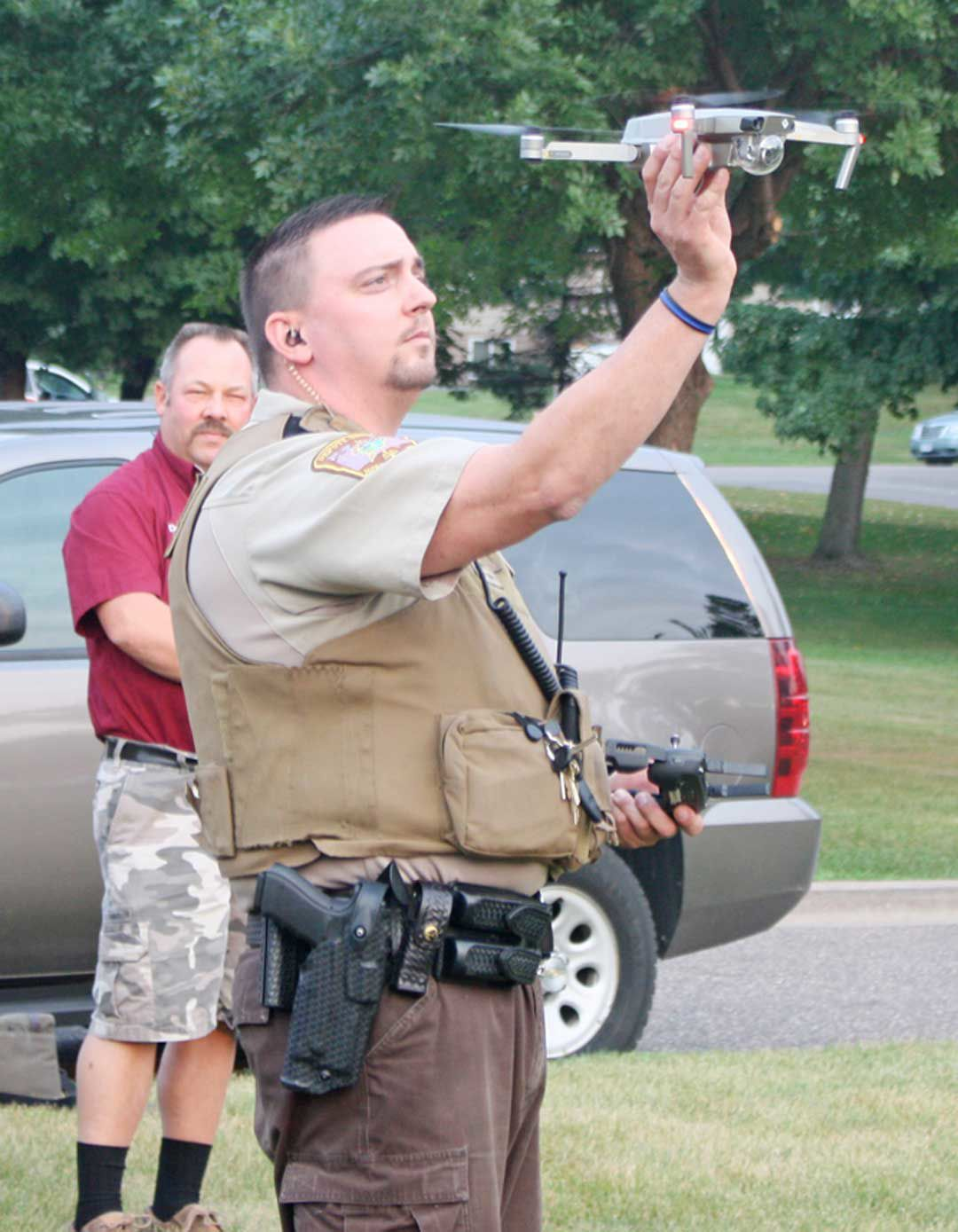 Drone equipment donated to MCSO in memory of Duane Johnson