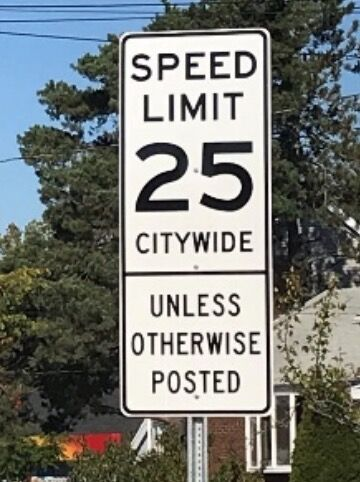 Excelsior speed limit