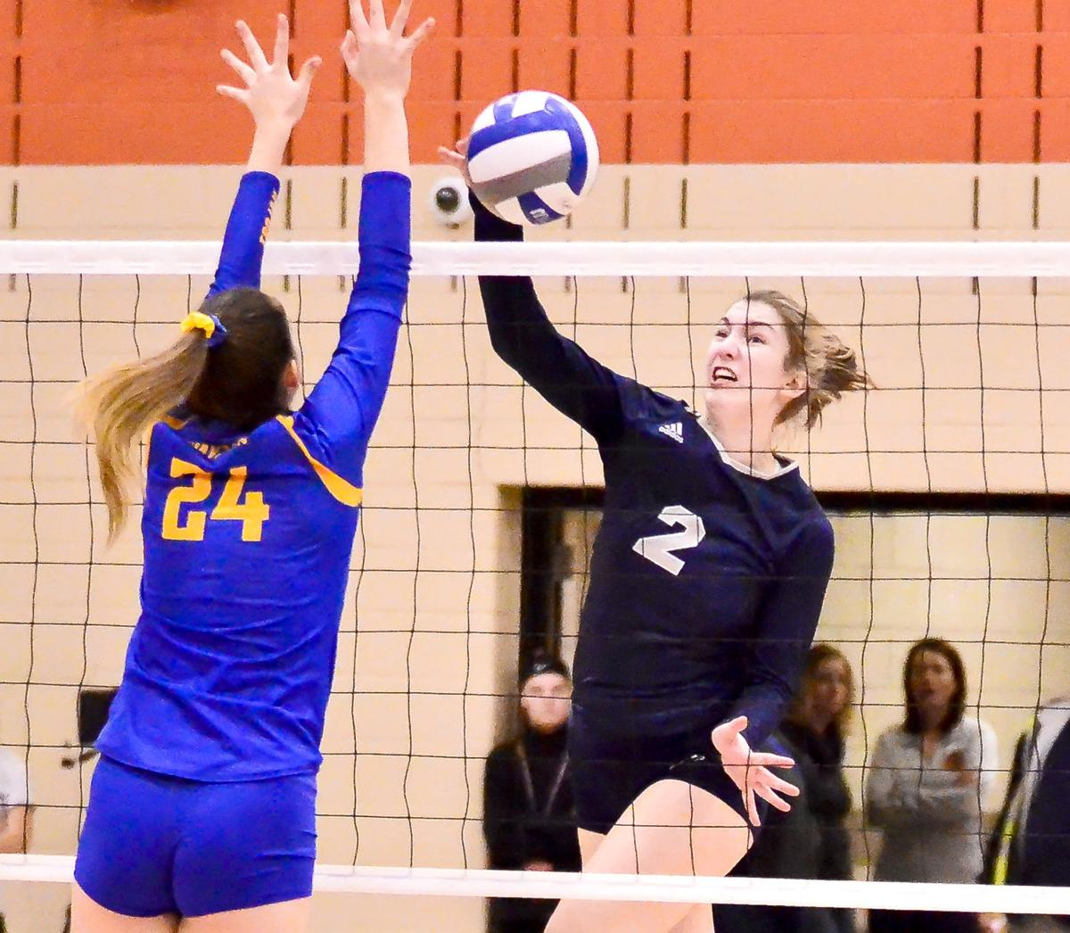 Champlin Park Volleyball Defending Champion Rebels Remain Contenders Despite Turnover Sports Hometownsource Com