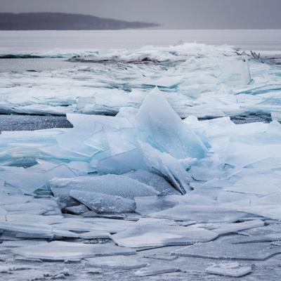 Stack Ice, Lake Superior