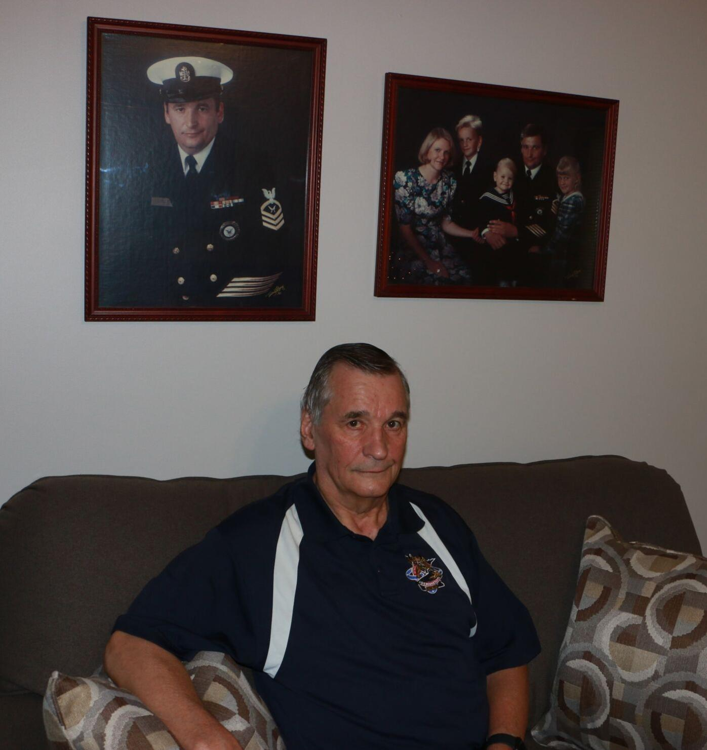 Eagan veteran thanks family, friends for the love and support