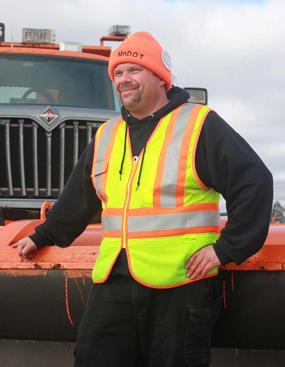 MnDOT trains plow truck drivers at Camp Ripley