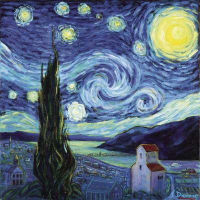 Starry Starry Nights Painting The Masters