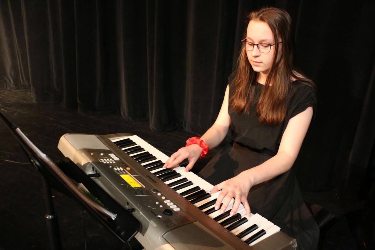 Farminton student musician composes music